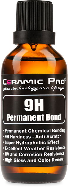 Ceramic Pro Charlotte -9H Permanent Bond